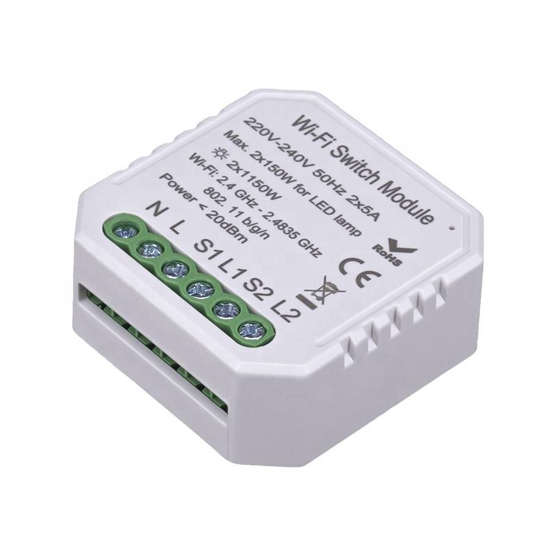 Комплект умного дома: умное освещение по протоколу WiFi Tervix Pro Line управление с телефона, голосом - 2