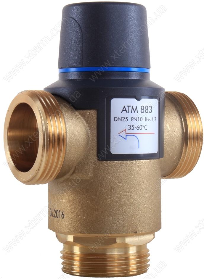 """Термостатический клапан 1 1/4"""" Afriso ATM883 с защитой от ожогов для ГВС 35-60°C G 1 1/4"""" DN25 Kvs 4,2 1288310 - 2"""