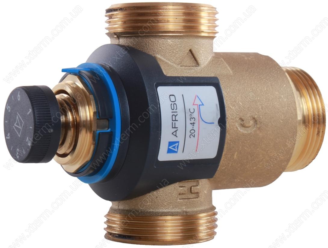 """Термостатический клапан 1 1/4"""" Afriso ATM881 на теплый пол T=20-43°C G 1 1/4"""" DN25 Kvs 4,2 1288110 - 2"""