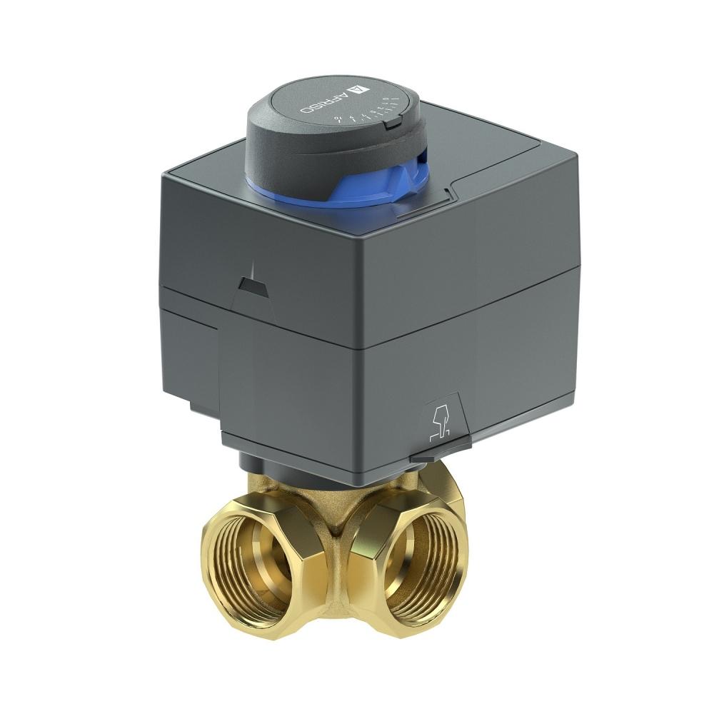 """ProClick комплект: 3-ход. клапан ARV385 Rp 1 1/4"""" и привод ARM323 3-точки, 230В, 60 сек - 1"""