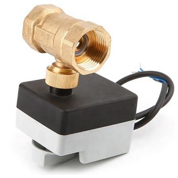 """Двухходовой шаровый клапан 1 1/4"""" нормально-открытый с приводом Tervix Pro Line ORC DN32, kvs 36, 230В АС, н/о, SPST 2 точки - 2"""