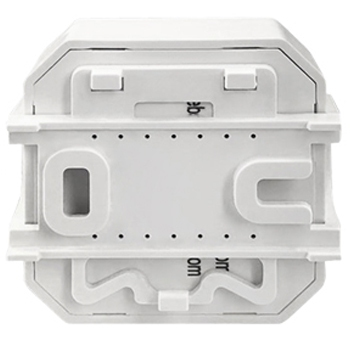 Умный дом: выключатель Tervix Pro Line ZigBee Switch (2 клавиши) без нуля, реле для скрытого монтажа - 1