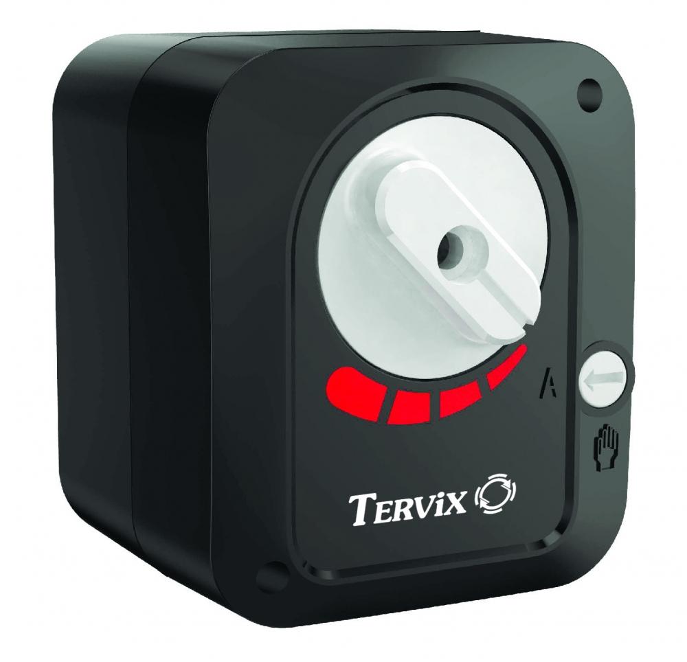 """Комплект: трехходовой поворотный смесительный клапан TOR 1"""", DN 25 и привод AZOG 3-точки, 124 сек, 8 Нм 230В - 3"""