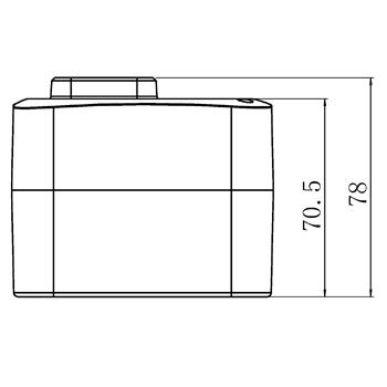 """Комплект: трехходовой поворотный смесительный клапан TOR 2"""",  DN 50 и привод AZOG 3-точки, 124 сек, 8 Нм 230В - 5"""