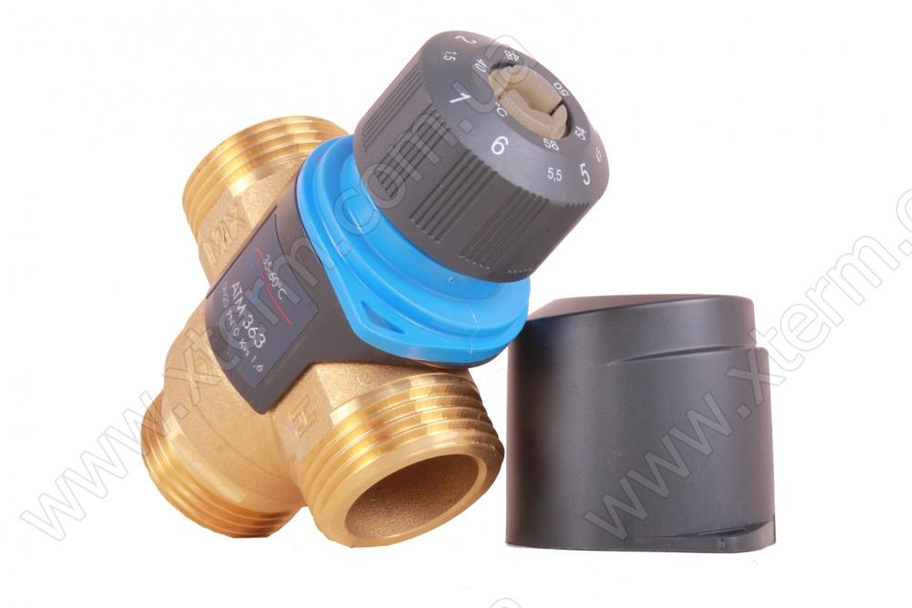 """Термостатический клапан 3/4"""" Afriso ATM341 на теплый пол T=20-43°C G 3/4"""" DN15 Kvs 1,6 1234110 - 2"""
