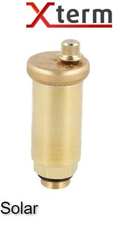 """Afriso 3/8"""" автоматический воздухоотводчик для солнечных систем, латунь, без отсечного клапана Афризо 77900 - 1"""