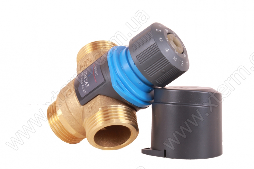 """Термостатический клапан 3/4"""" Afriso ATM343 с защитой от ожогов для ГВС T=35-60°C G 3/4"""" DN15 Kvs 1,6 1234310 - 2"""