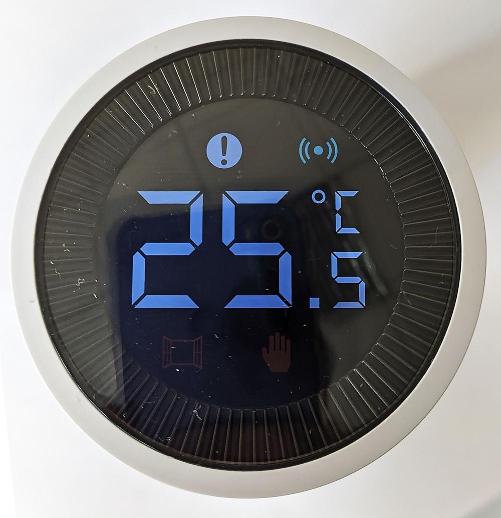 Умный дом: беспроводная термоголовка для радиаторов Tervix Pro Line EVA для умного дома, беспроводная ZigBee - 3