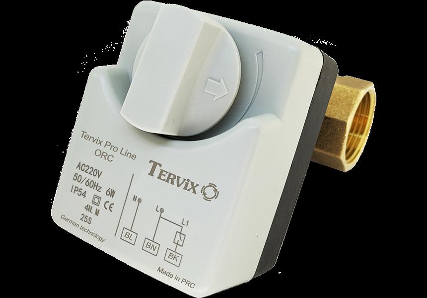 Беспроводное управление 2-х или 3-х ходовым переключающим приводом с клапаном по температуре (WiFi) - 4