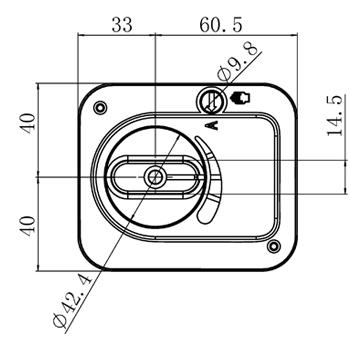 Электропривод смесительного клапана, 124 сек, 8 Нм, 3х точечный, Tervix AZOG - 2