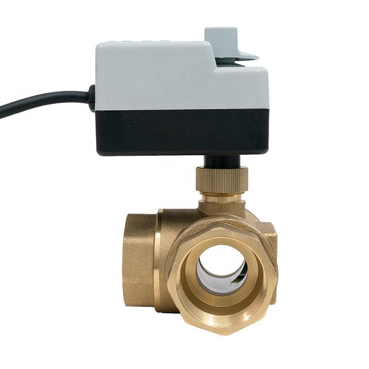 """3-ходовой шаровой клапан н/в  3/4"""" DN20 с электроприводом Tervix Pro Line ORC 3-way 202122 - 3"""