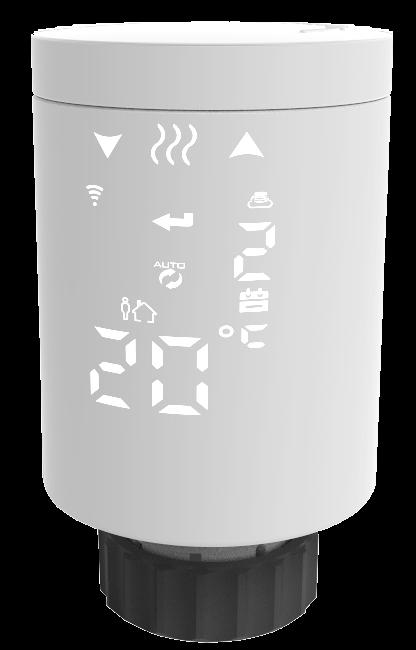 Термостат радиаторной беспроводной Tervix ProLine EVA2 (термоголовка) 228731 - 2