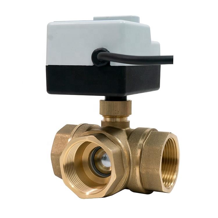 """3-ходовой шаровой клапан н/в  3/4"""" DN20 с электроприводом Tervix Pro Line ORC 3-way 202122 - 5"""