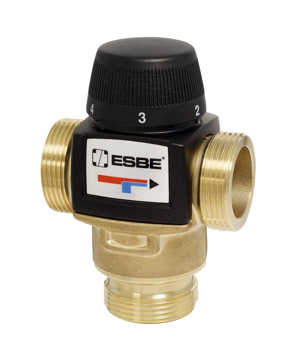 "Термостатический клапан 1"" ESBE VTA572 на теплый пол, радиаторы 30-70°C G1"" DN20 kvs 4,5 31702500 - 4"