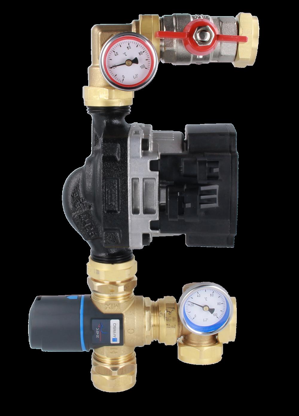 Отопления. Теплый водяной пол (беспроводное управление) (ZigBee) - 5