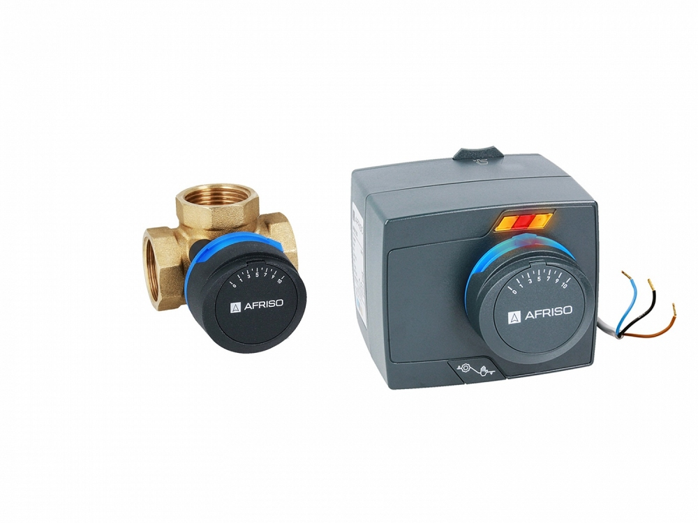"""3-ходовой поворотный смешивающий клапан ARV 384 ProClick DN25, Rp 1 """", kvs 10 - 3"""