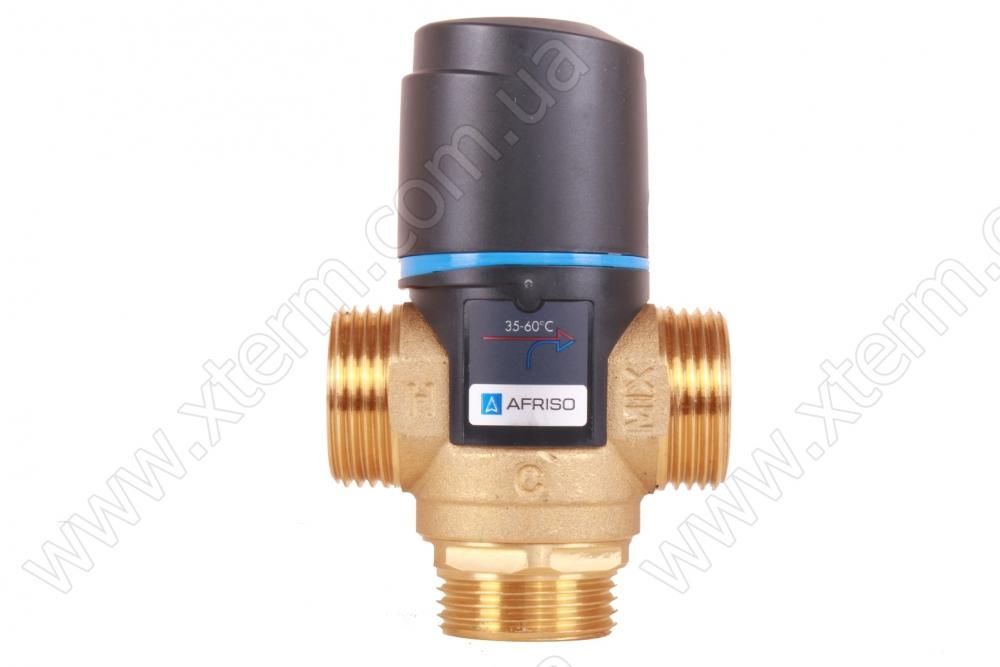 """Термостатический смесительный клапан Afriso ATM 363 T=35-60°C G 1"""" Kvs 1,6 - 1"""