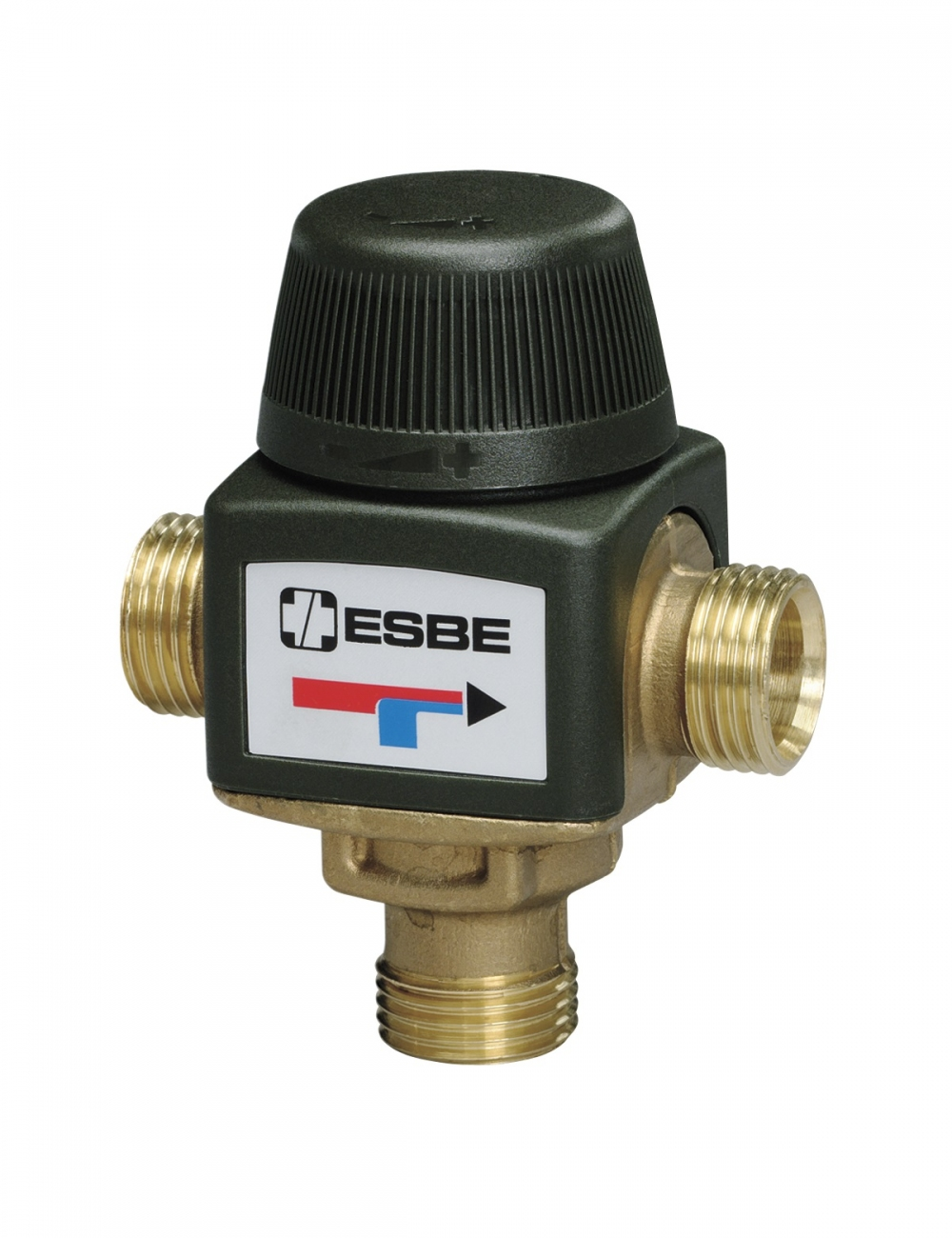 """Термостатический смесительный клапан 1/2"""" ESBE VTA312 для ГВС 35-60°C DN 15 Kvs 1,2 31050200 - 5"""