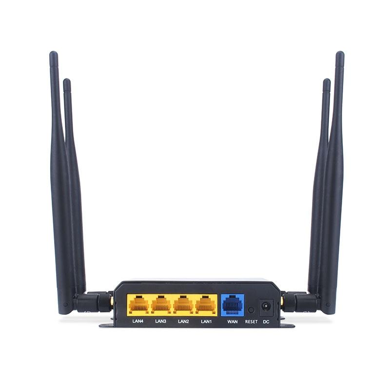 Умный дом: Роутер с поддержкой GSM симкарт 3G/4G + WiFi до 300 Мбит/с с автоперезагрузкой Tervix Pro Line Ethernet Router 3G/4G/Ethernet - 4