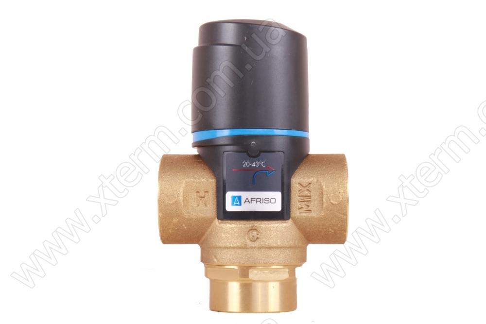 """Термостатический смесительный клапан Afriso ATM 333 T=20-43°C Rp 3/4"""" Kvs 1,6 - 1"""