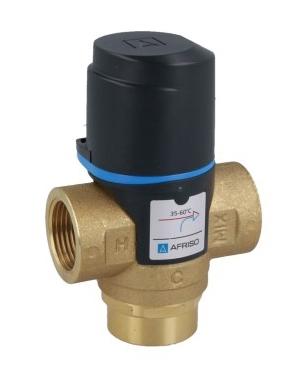 """Термостатический клапан 3/4"""" Afriso ATM333 с защитой от ожогов для ГВС T=35-60°C Rp 3/4"""" DN20 Kvs 1,6 1233310 - 7"""