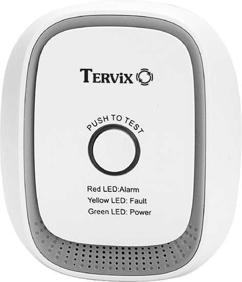 Комплект умного дома: защита от утечки газа природного Tervix ZigBee перекрытие подачи газа в случае тревоги - 3
