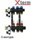 Коллектор на 3 контура для подключения теплого пола ProCalida AFRISO EF 1/3  - 1