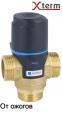 """Термостатический клапан 3/4"""" Afriso ATM343 с защитой от ожогов для ГВС T=35-60°C G 3/4"""" DN15 Kvs 1,6 1234310 - 4"""